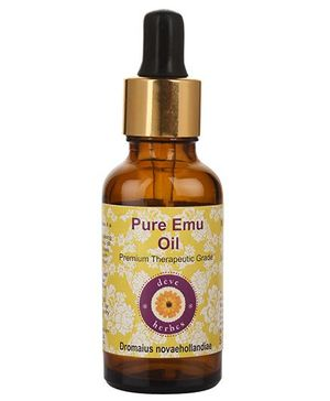 Deve Herbes Pure Emu Oil With Dropper - 30 ml