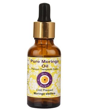 Deve Herbes 100% Pure Moringa Oil With Dropper - 30 ml