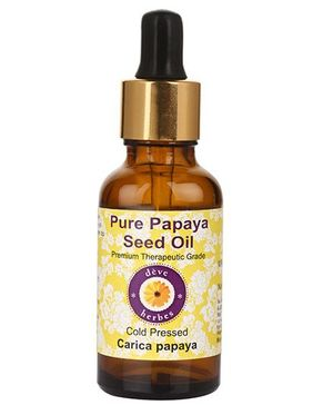 Deve Herbes Pure Papaya Seed Oil With Glass Dropper - 30 ml