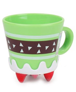 Mug Green White - 360 ml