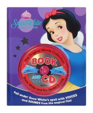 Disney Princess Snow White and Seven Dwarfs Book and CD