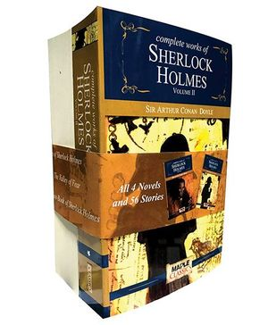Complete Works Of Sherlock Holmes Set Of 2 Books - English