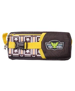 Kidofash Double Chain Multi-Purpose Pouch - Yellow