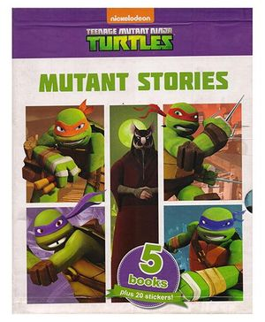Slipcase Nickelodeon Teenage Mutant Ninja Turtles Mutant Story Books Pack of 5 - English