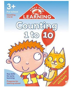 First Time Learning Counting 1 to 10 - English