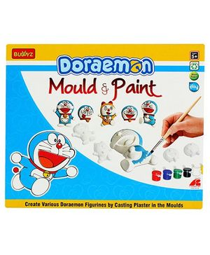 Buddyz - Doraemon Mould And Paint