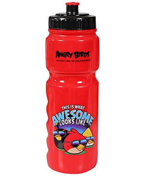 Angry  Bird - Pull Top Water Bottle
