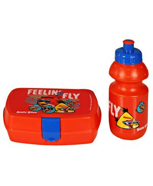 Angry Birds - Lunch Box And Water Bottle Set