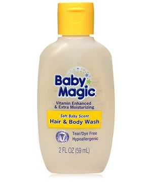 Baby Magic - Soft Baby Scent Hair And Body Wash 59 ml