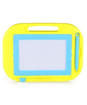 Baby Writing Board With Pen & Handle - Yellow