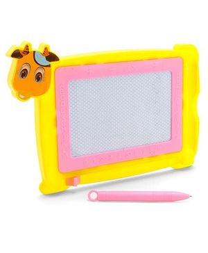 Writing Board With Pen Animal Shape (Color May Vary)