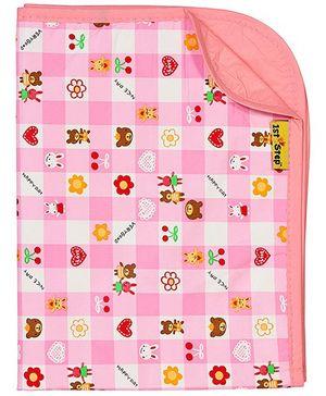 1st Step - Pink Baby Mat