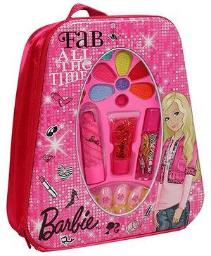 Barbie -  Metal Backpack Make Up Set