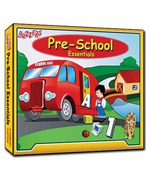 Buzzers - Preschool Essentials CD ROM