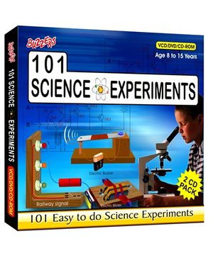 Buzzers - 101 Science Experiment 2 CD's Pack