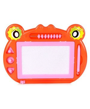 Writing Board With Pen Monster Shape - Orange