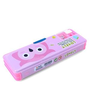 Pencil Box Pink (Print May Vary)