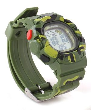 Digital Wrist Watch - Dark Green