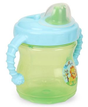 1st Step Sipper Cup With Twin Handle - Green