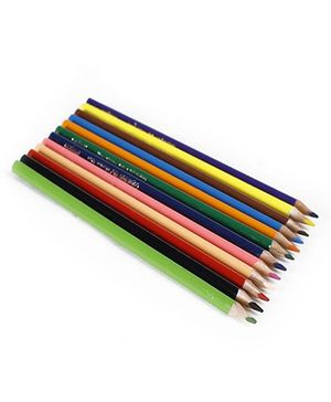 Maped Color'Peps Colouring Pencil With Metal Box Multi Colour - Pack of 12