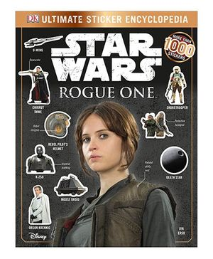 Star Wars Rogue One Ultimate Sticker Encyclopedia - English