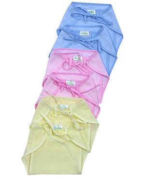 Babyhug Cloth Nappy String Tie Up New Born - Set Of 6