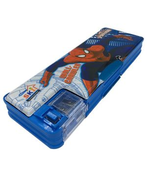 Funcart Ultimate Spiderman Magnetic Pencil Box - Blue