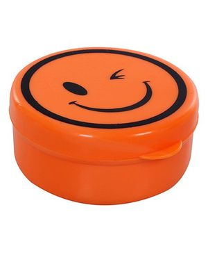 Fab N Funky - Smiley Print Orange Compressible Drinking Cup