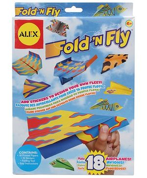 Alex Toys -  Fold N Fly Paper Airplanes