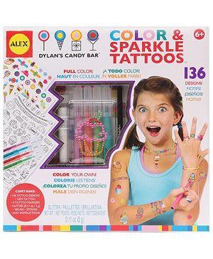 Alex Toys - Color And Sparkle Tatoos