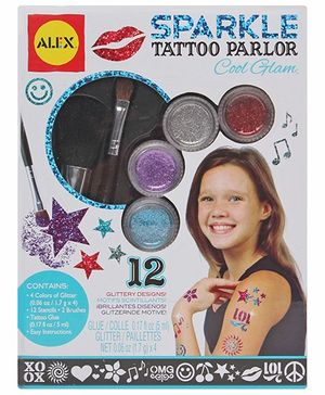 Alex Toys - Cool Glam Sparkle Tattoo Parlor