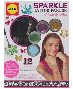 Alex Toys - Peace and Love Sparkle Tattoo Parlor