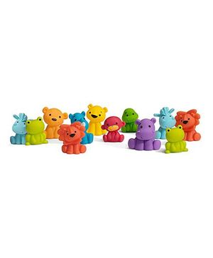 Infantino Tub O Bath Toys Multicolour - Pack of 12