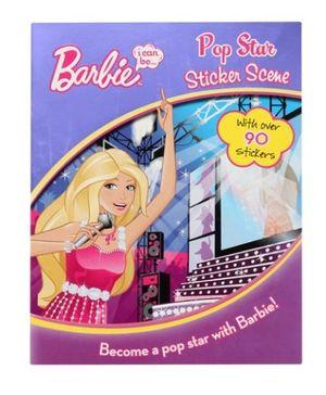 Barbie - Pop Star Sticker Scene Book