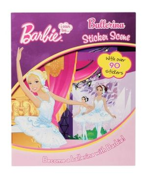 Barbie - Ballerina Sticker Scene Book