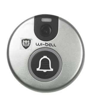 TigerTech Smart Wifi Doorbell - Silver