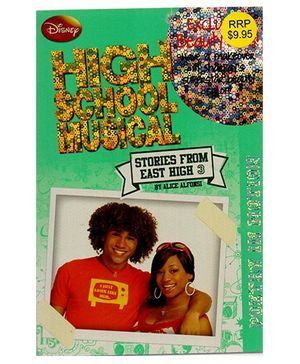 Disney High School Musical Poetry In Motion Book - English