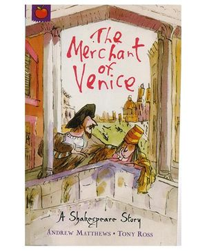 A Shakespeare Story The Merchant of Venice Story Book - English