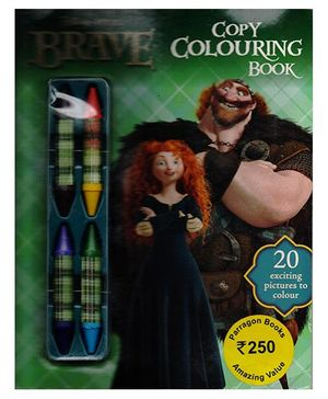 Disney Brave Copy Colouring Book - English