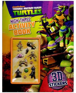 Teenage Mutant Ninja Turtles High-Three Activity Book - English