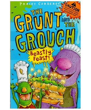 The Grunt And The Grouch Beastly Feast Story Book - English