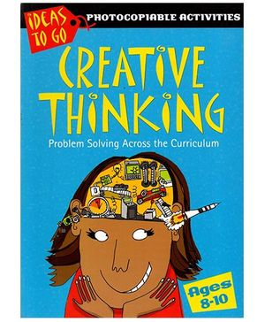 Creative Thinking Problem Solving Activity Book - English