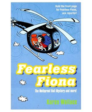 Fearless Fiona And The Mothproof Hall Mystery Book - English