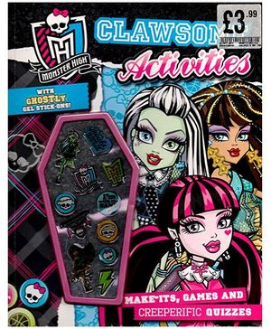 Monster High Clawsome Activities Book - English
