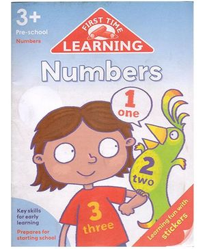 First Time Learning Numbers - English