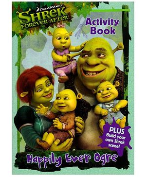 Shrek Forever After Happily Ever Ogre Activity Book - English