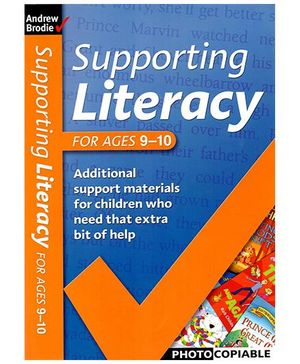 Supporting Literacy Book - English