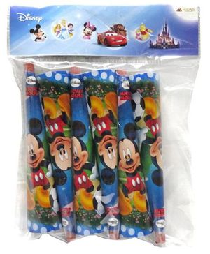 Funcart  Mickey Mouse Themed Party Hooters Pack of 6 - Multicolour