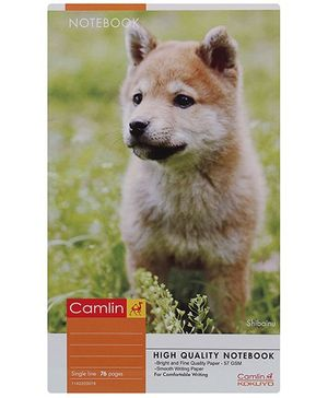 Camlin Single Line Note Book - 68 Pages