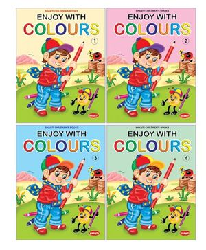 Enjoy with Colours Books Combo of 4 - English